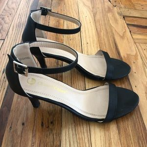 Ankle Strap Sandal with Heel